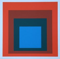 Josef Albers - Homage to the Square 1977.
