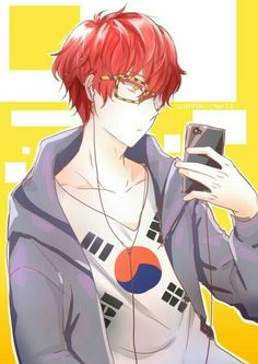 Luciel/Saeyoung Choi from Mystic Messenger