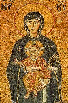 Theotokos from Hagia Sophia