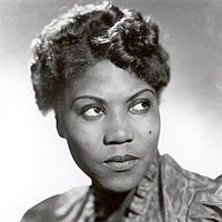 """Sister Rosetta Tharpe (March 20, 1915 – October 9, 1973) was an American singer, songwriter, guitarist and recording artist. A pioneer of 20th-century music, Tharpe attained great popularity in the 1930s and 1940s with her gospel recordings that were a mixture of spiritual lyrics and early rock and roll accompaniment. As the first recording artist to impact the music charts with spiritual recordings, Tharpe became the first superstar of gospel music and became known as """"the original soul…"""
