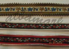 ALBAMARE MANUALIDADES - HANDICRAFTS: Pulseras de cremallera - Zipper bracelets
