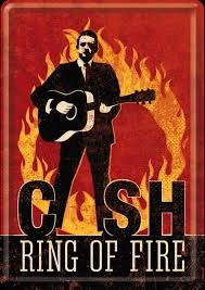 Image result for ring of fire johnny cash