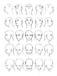 Drawing male and female faces, drawing a human body (drawing fa . - Male and female face drawing, human body drawing (drawing fa …- - Human Body Drawing, Human Figure Drawing, Figure Drawing Reference, Art Reference Poses, Manga Drawing, Face Reference, Anatomy Reference, Drawing Men Face, Drawing People Faces