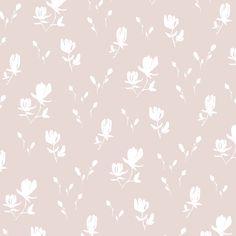 Wallpaper - Magnolia | Blush - Peel & Stick / 2 x 12' panel