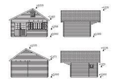 Plano 2 Casa de Madera Erica