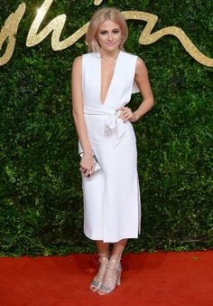 Pixie Lott aux British Fashion Awards 2015