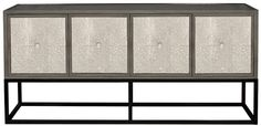 """Vanguard Furniture - Our Products - P528S Madison Console Table 70""""W x 19""""D x 32""""H sideboard buffet faux shagreen"""