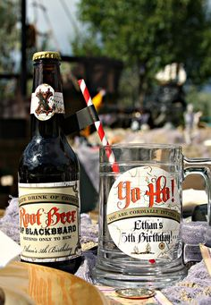 root beer labels. really cool, but too pricey for me!
