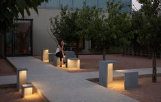Winner of the 2015 Best of Year Award for seating and tables, EMPTY is matter and light integrated in a single sculptural, functional entity. Designed by Xuclà, its rational structure...
