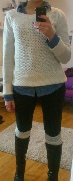 Winter, Autumn,   http://lucciola-test.blogspot.de/2014/01/outfit-jeansbluse-winterstyle.html