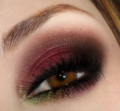 Captivating Cranberry Eyes Love these. I have these colors!