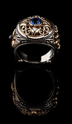byzantine ring designs | Byzantine Style Ring SR-619