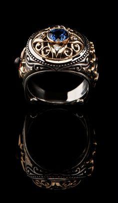 Byzantine Style Ring  SR-619 - MEN\'S RINGS | Bellevue, WA