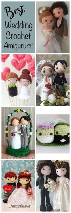 It is wedding season! Love is in the air and I thought it would be fun to share my absolute favorite crochet bride and grooms with you! Here's my list of the Best Wedding Amigurumi: Adorable Crochet Bride and Groom Pattern Found from Havva Designs. This awesome pattern designer has so, so many cute patterns...Read More »