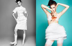 White Spring with Anais Pouliot for Numéro China