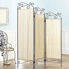 Trifold Room Screen from PBteen. Saved to Dorm Room. Shop more products from PBteen on Wanelo. My New Room, My Room, Girl Room, Furniture Vanity, Furniture Decor, Dressing Room Closet, Dressing Rooms, Feminine Bedroom, Teen Room Decor