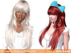 Sims 3 hair, hairstyle, genetics, female, sims3