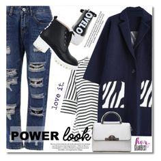 """Power look"" by svijetlana ❤ liked on Polyvore"
