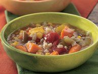 Minestrone in the slow cooker