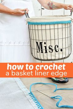How to Crochet a Bas