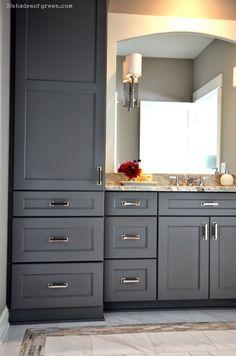 Top 35 Amazing Bathroom Storage Design Ideas Tile mirror Built