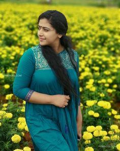 Anu Sithara is an Indian film actress who appears in Malayalam cinema.Anu Sithara is also known as junior Kavya Madhavan. Beautiful Girl Indian, Most Beautiful Indian Actress, Beautiful Actresses, Beautiful Saree, Cute Beauty, Beauty Full Girl, Beauty Women, Indian Actress Hot Pics, Indian Actresses