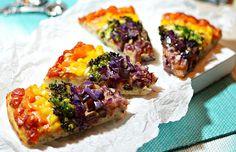 Rainbow Pizza Recipe