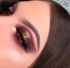 Amazing Wedding Makeup Tips – Makeup Design Ideas Dramatic Eye Makeup, Eye Makeup Art, Makeup For Green Eyes, Blue Eye Makeup, Eye Makeup Tips, Beauty Makeup, Hair Makeup, Makeup Ideas, Nice Makeup
