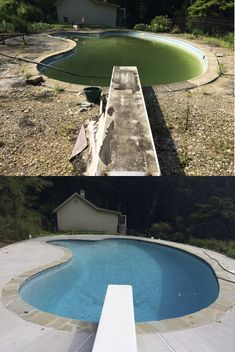 Anthony & Sylvan can renovate your pool from green to great!