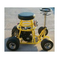 Yellowjacket Bar Stool Go Kart