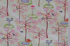 SALE 25% OFF Frolic Woodland Animals by Wendy Slotboom for In the Beginning fabrics - 100 Percent Quality Cotton -1/2 yard Remnant - $2.99 USD