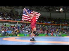 Snyder wins gold, becomes youngest U.S. wrestling champion - YouTube