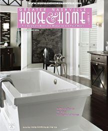 Bathroom Trends for 2015 from Nashville House & Home & Garden Magazine.