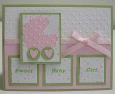 Stamping with Loll: Sweet Baby Girl