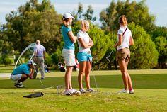 Antalya Golf Club - ladies golfing