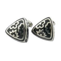 black stainless steel fashion mens earrings ,mens earrings,black stainless steel earrings,fashion earrings
