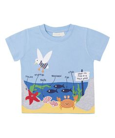 Look what I found on #zulily! Blue Rock Pool Tee - Infant, Toddler & Boys #zulilyfinds
