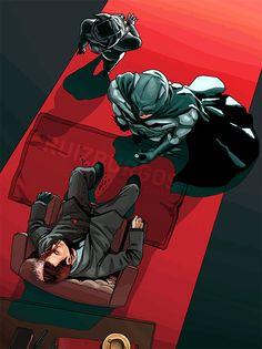 Ruiz Burgos - The Bat, the Cat and the Faces