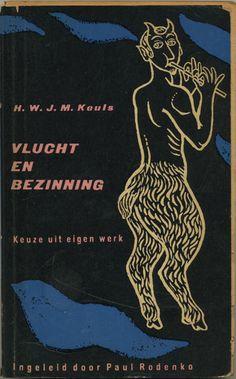 Vlucht en bezinning - book cover from 1958