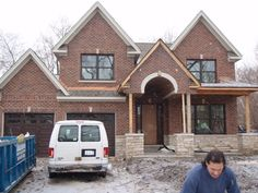 Brick House Trim Colors | Fill it with brick, leaving the arch and keystone the color of the ...