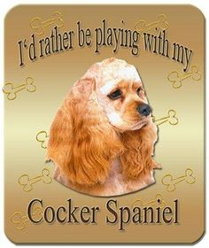 Cocker Spaniel Mouse Pad