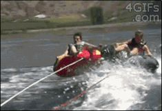 This wipeout win: | 12 Of The Luckiest Things That Have Ever Happened