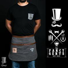 FancyGents Waiter Apron Restaurant Aprons, Restaurant Uniforms, Restaurant Branding, Cafe Uniform, Waiter Uniform, Apron Designs, Shirt Designs, Barber Apron, Work Aprons