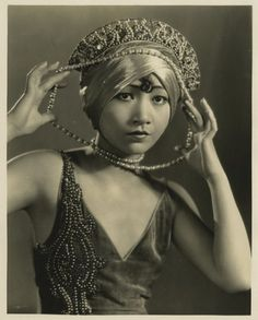 Anna May Wong, Forty Winks, 1925. Photographed by Eugene Robert Richee