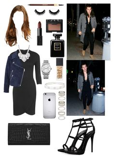 """Party with Harry;)"" by tinateva ❤ liked on Polyvore featuring Topshop, Acne Studios, Giuseppe Zanotti, Yves Saint Laurent, Forever 21, NARS Cosmetics, Calvin Klein, Chanel, Cartier and women's clothing"