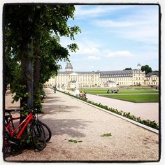 #karlsruhe palace in Germany