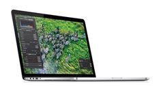 "The new MacBook Pro. A 2880x1800 ""retina"" screen, 2.6GHz quad core Intel Core i7, 512GB of flash storage, 0.71 inches thin."