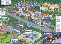 DelGrosso's Amusement Park - 2009 Map