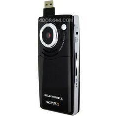 Best Buy Bell & Howell Take 2 Digital Camcorder with 1280x720p HD Video, 4x Digital Zoom, Black