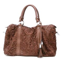 brown lace bag. . Like, Repin, Share, Follow! Thanks :)